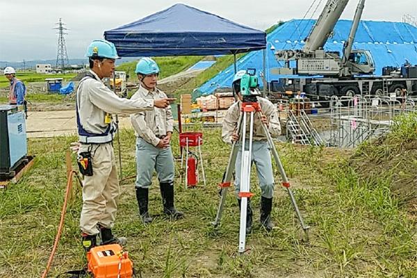 相村建設株式会社 土木 港湾 高校生インターンシップ受入