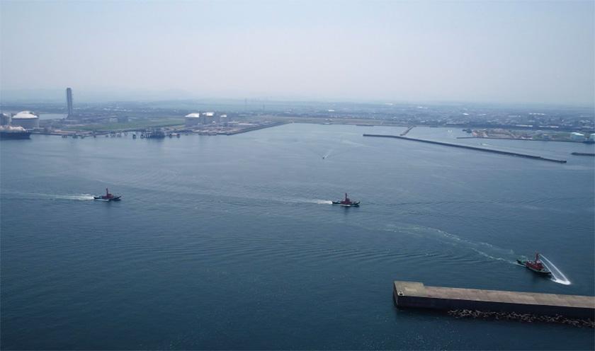 相村建設株式会社 土木 港湾 エネルギー港湾(直江津港)